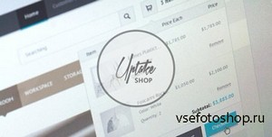 ThemeForest - Uptake Shop HTML Template - RIP