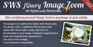 CodeCanyon - Image Zoom add-on for Styles with Shortcodes v1.0.1
