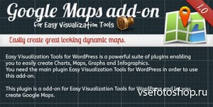CodeCanyon - Google Maps add-on for Easy Visualization Tool v1.0.0