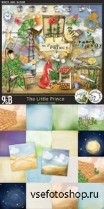 Scrap Set - The Little Prince PNG and JPG Files