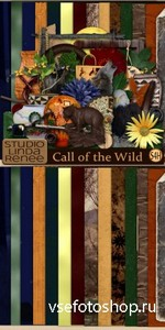 Scrap Set - Call of the Wild PNG and JPG Files