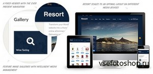 WooThemes - Resort v1.0 - Premium WordPress Theme
