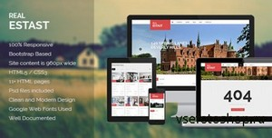 ThemeForest - RealEstast - Real Estate HTML Template - RIP
