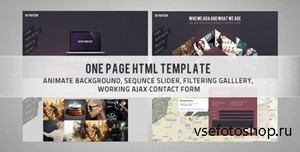 ThemeForest - Skygo One Page HTML Template - RIP