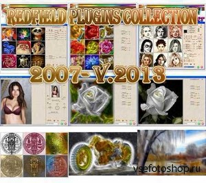 Adobe Photoshop Redfield Plugins Collection 2007- V.2013