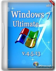 Windows 7 x64 Ultimate v.4.5.13 by Romeo1994 (2013/RUS)