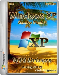 Windows XP SP3 by Matros WPI Drivers 21.05.2013 (х86/RUS)