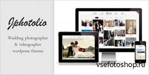 ThemeForest - JPhotolio: Responsive Wedding Photography WP Theme v4.3.0