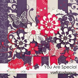 Scrap Set - You Are Special PNG and JPG Files