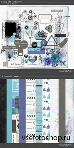 Scrap Set - A cosy Loft PNG and JPG Files