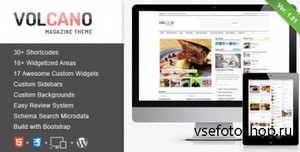 ThemeForest - Volcano v1.01 - Responsive WordPress Magazine / Blog