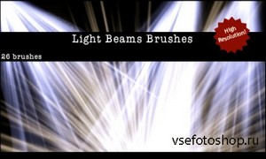 Light Beams + Rays Brushes
