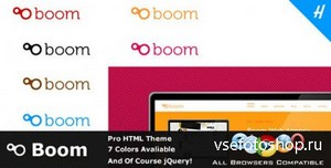 ThemeForest - Boom - Professional HTML Theme - FULL