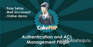 CodeCanyon - CakePHP 2.0 Authentication & ACL Management Plugin
