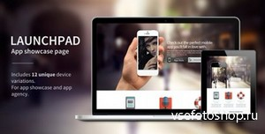 ThemeForest - Launchpad - Responsive App Landing Page - RIP