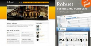 ThemeForest - Robust Business & Portfolio Template w CMS & SHOP - FULL