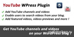 CodeCanyon - YouTube Premium Videos Integration for WordPress v1.8.3