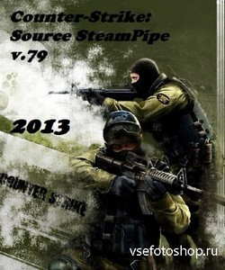 Counter-Strike: Source SteamPipe v.79 (2013/PC/Rus/Repack)