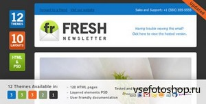 ThemeForest - Fresh Newsletter v1.2 - FULL