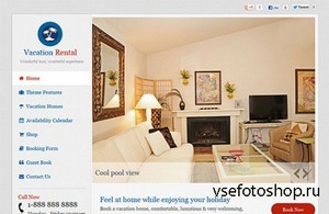 Templatic - Vacation Rental v1.1.8 Theme for WordPress