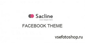 ThemeForest - Sacline Facebook Template - FULL