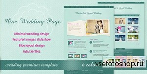ThemeForest - Our Wedding Page - FULL