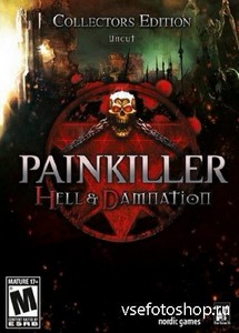 Painkiller: Hell & Damnation. Collector's Edition + 7 DLC (2012/RUS/ENG/MUL ...