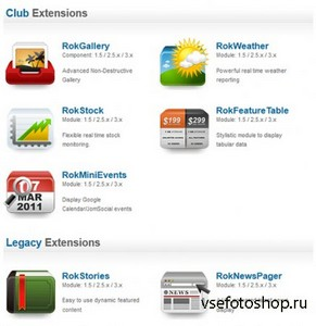 RocketTheme - All Club Extensions Latest for Joomla 2.5 - 3.x - 15/6/13