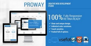 ThemeForest - ProWay - Responsive Multipurpose HTML5 Template - RIP