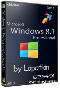 Microsoft Windows 8.1 Pro 6.3.9431 x86/x64 Small