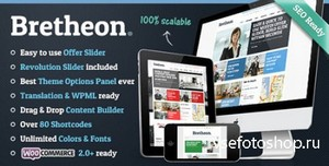 ThemeForest - Bretheon v2.0.4 - Premium WordPress Theme