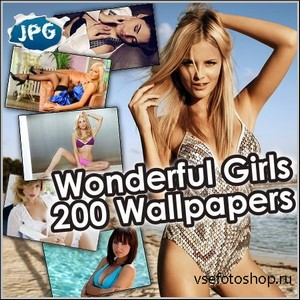 Wonderful Girls - 200 Wallpapers