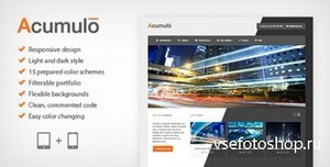 ThemeForest - Acumulo HTML - Modern Business Theme - FULL