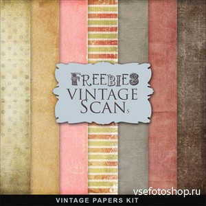 Textures - Old Vintage Backgrounds #142