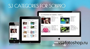 SmartAddons - SJ Categories for SobiPro - Responsive Joomla! 2.5 Module