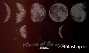 ABR Brushes - Phases of the moon
