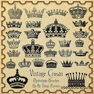 ABR Brushes - Vintage Crown