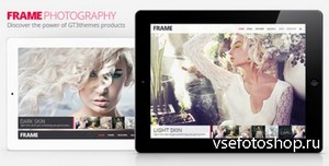 ThemeForest - Frame Photography Responsive Website Template - RIP