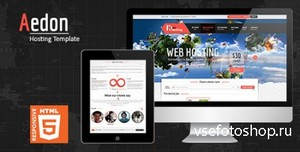ThemeForest - Aedon Responsive Creative HTML5 Template - RIP