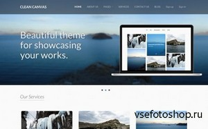 WrapBootstrap - Clean Canvas - Business Theme