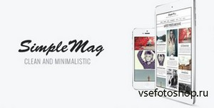 ThemeForest - SimpleMag v2.0 - Magazine theme for creative stuff
