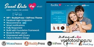ThemeForest - Sweet Date v1.4.1 - More than a Wordpress Dating Theme - FULL