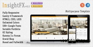 ThemeForest - InsightFX - Multipurpose Joomla Template