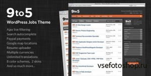 ThemeForest - Nine to Five v1.7.1 - Premium WordPress Jobs Theme