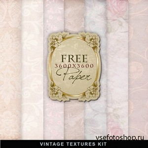Textures - Old Vintage Backgrounds #151