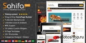ThemeForest - Sahifa v3.4.0 - Responsive WordPress News, Magazine, Blog