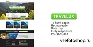 ThemeForest - Travelux - Template for Travel or Hotel Business - RIP