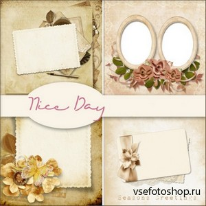 Scrap Set - Nice Day PNG Files