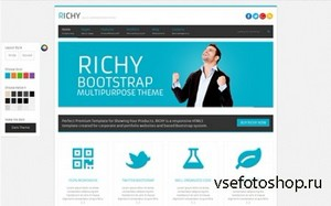 WrapBootstrap - Richy - Multipurpose Bootstrap Theme