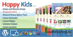 ThemeForest - Happy Kids v1.2 - Children WordPress Theme